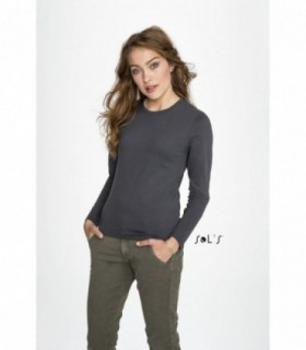 IMPERIAL LSL WOMEN Sol's  - 2075 - TEE-SHIRT FEMME MANCHES LONGUES