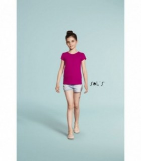 MELODY Sol's  - 1189 - TEE-SHIRT FILLETTE