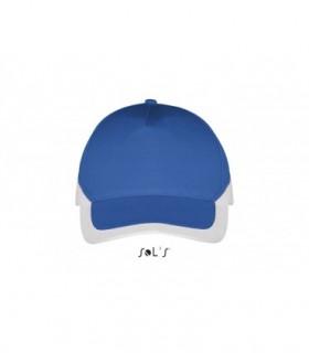 BOOSTER Sol's  - 595 - CASQUETTE BICOLORE 5 PANNEAUX Sol's personnalisé [product_short_desc]