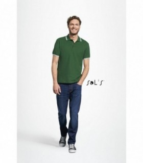 PRACTICE Sol's  - 11365 - POLO HOMME
