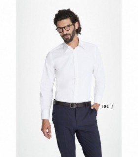 BRIGHTON - 17000 - CHEMISE HOMME STRETCH MANCHES LONGUES