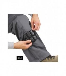 PROTECT PRO Sol's  - 80601 - COUSSINS DE GENOU |  PROTECT PRO - 80601 - COUSSINS DE GENOU  Protections pour les genoux permettant de travailler avec plus de confort.Adapté au pantalon Actif Pro et combinaison Solstice ProÉpouse parfaitement la forme du genou pour une protection optimale100% polypro