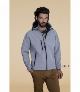 REPLAY MEN Sol's  - 46602 - SOFTSHELL HOMME À CAPUCHE