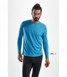 SPORTY LSL MEN Sol's  - 2071 - TEE-SHIRT SPORT HOMME MANCHES LONGUES