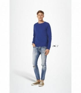 STUDIO MEN Sol's  - 1408 - SWEAT-SHIRT HOMME FRENCH TERRY