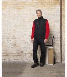 WORKER PRO Sol's  - 1568 - BODYWARMER UNICOLORE WORKWEAR HOMME